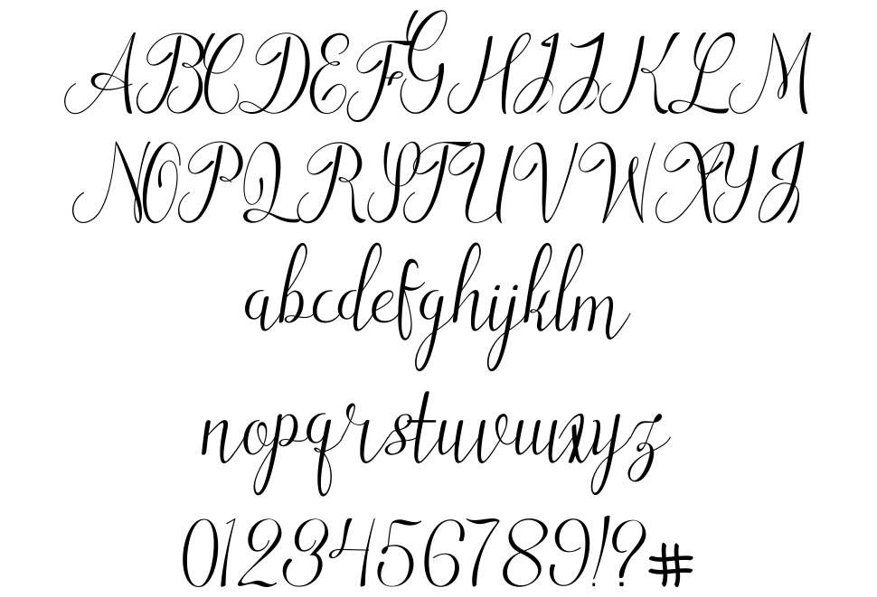 Ladies First font