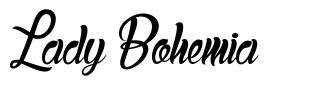 Lady Bohemia font