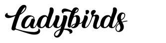 Ladybirds font