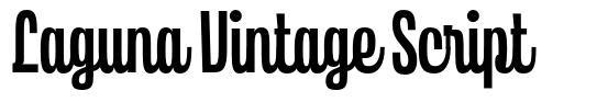 Laguna Vintage Script