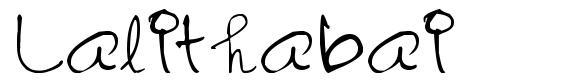 Lalithabai font