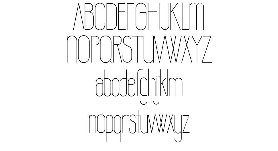 Lamon шрифт