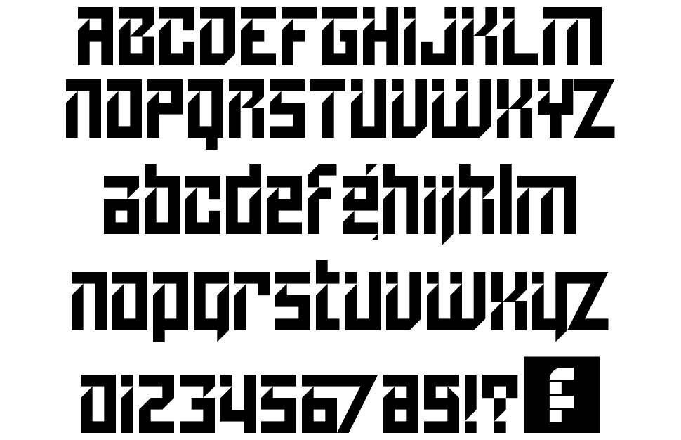 Lampoon font