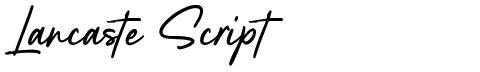 Lancaste Script