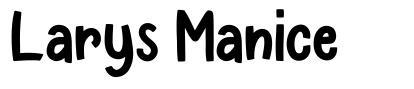 Larys Manice フォント