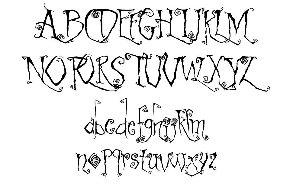 Latchboy písmo