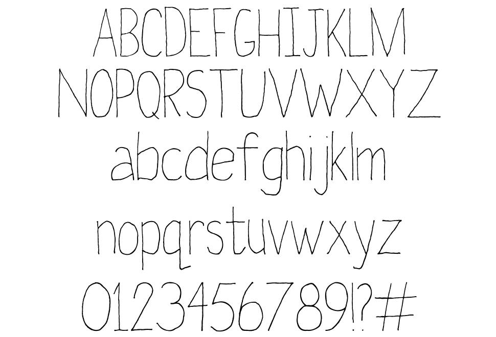 Later On font