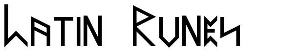 Latin Runes