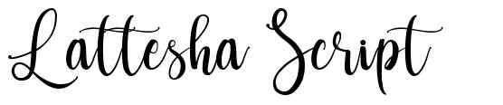 Lattesha Script