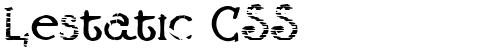 Lestatic CSS