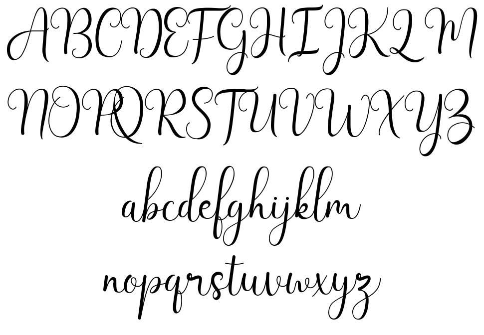Letisha písmo
