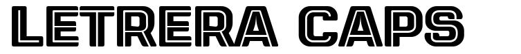 Letrera Caps font