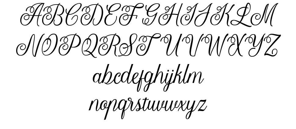 Letterline font