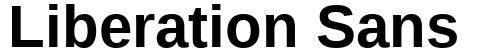 Liberation Sans