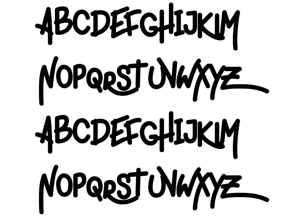 Ligera Rouden шрифт