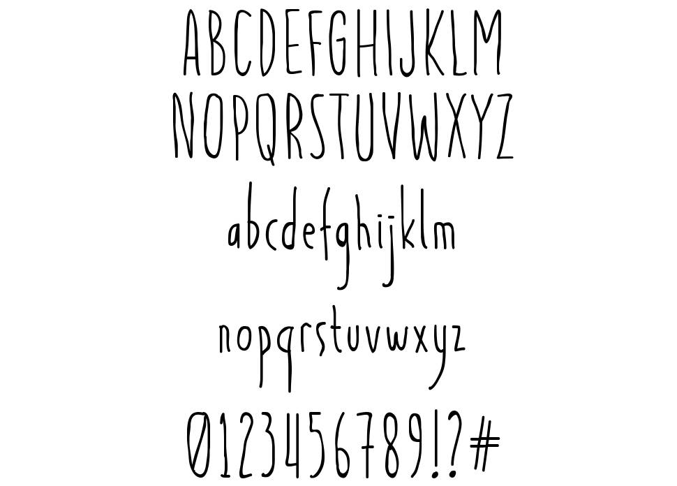 Light And Airy font