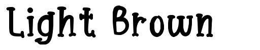 Light Brown font