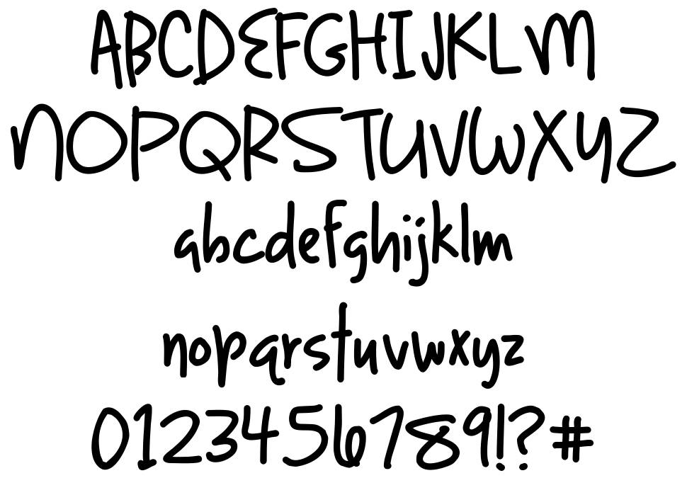 Light up the World font