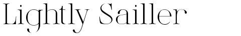 Lightly Sailler