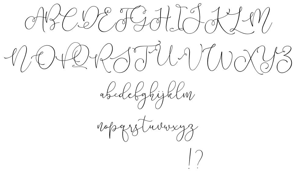 Lilypaly font