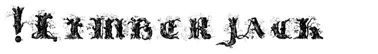 !Limberjack font