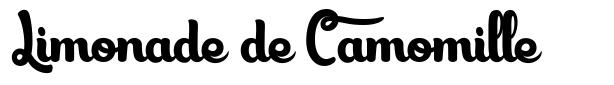 Limonade de Camomille font