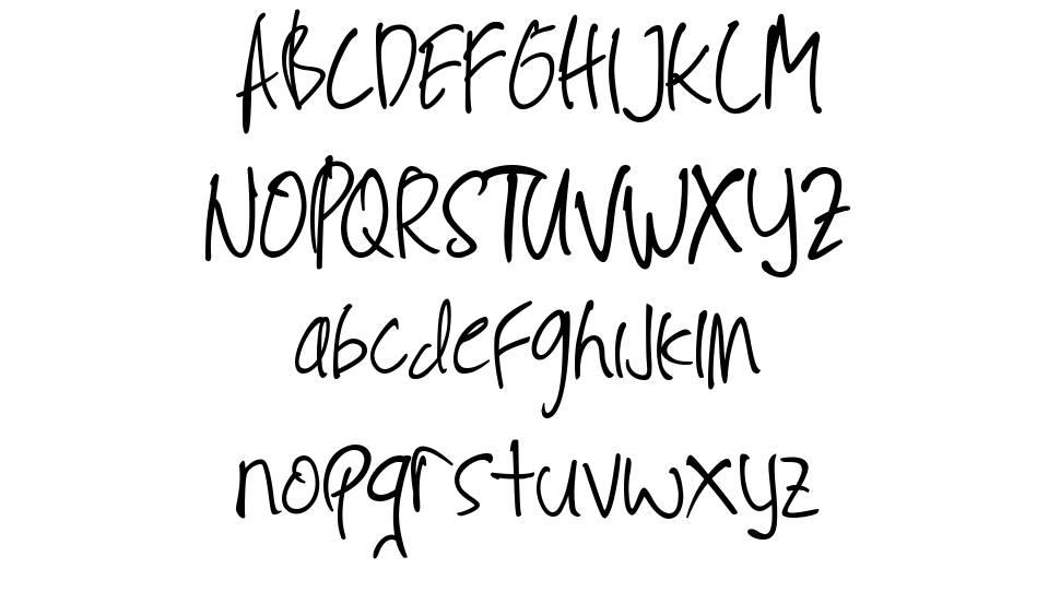 Limpung font