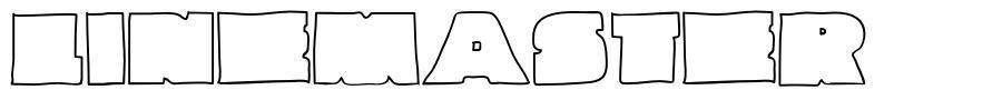 Linemaster font