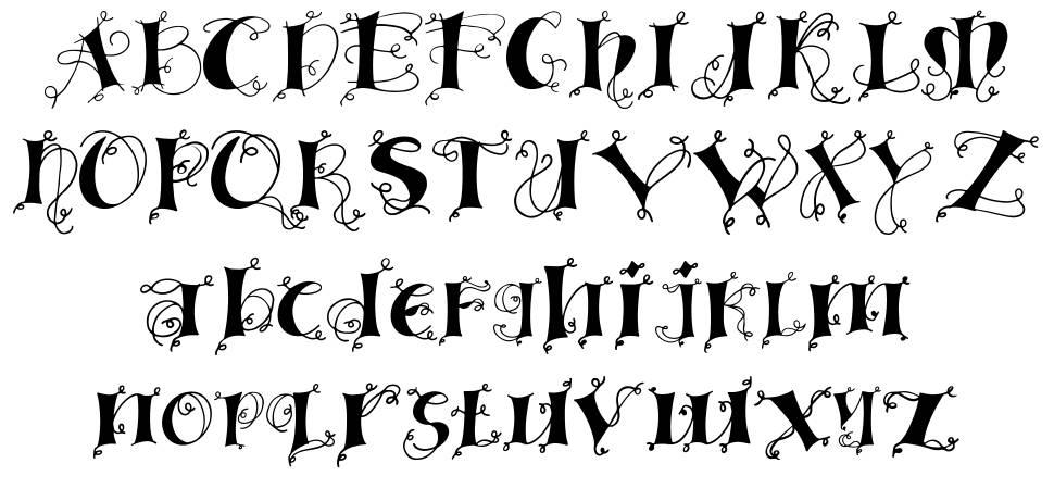 Linger font