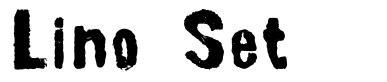 Lino Set font