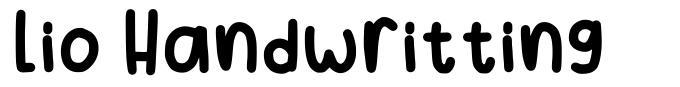 Lio Handwritting