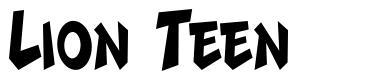 Lion Teen フォント