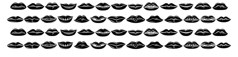 Lippen font