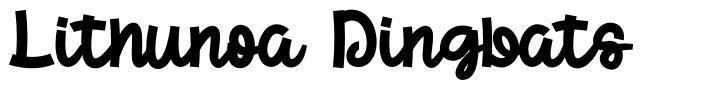 Lithunoa Dingbats font