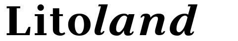 Litoland font
