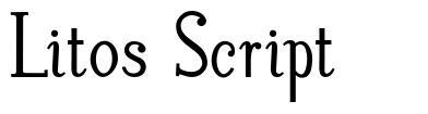 Litos Script font