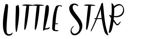 Little Star font