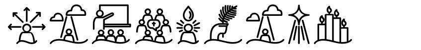 Liturgica font