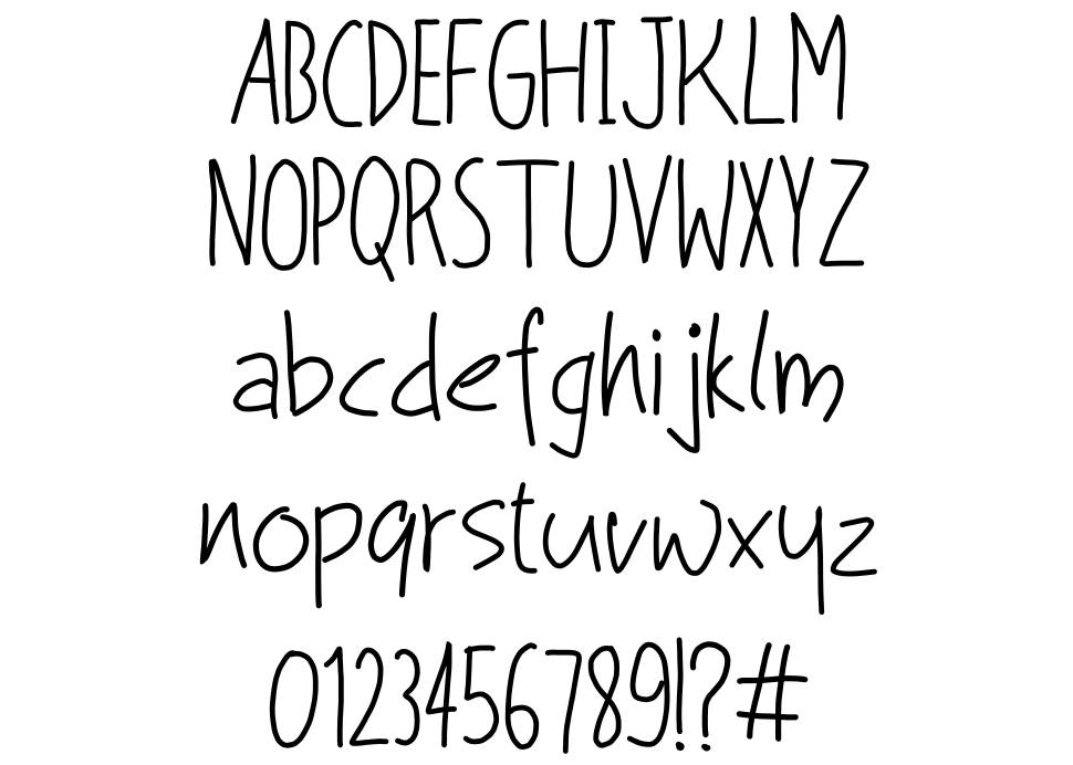 Living the Dream font