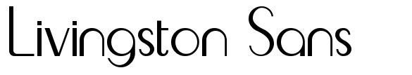 Livingston Sans