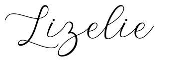 Lizelie font