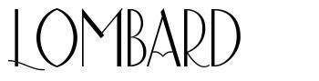 Lombard fonte