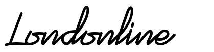 Londonline font