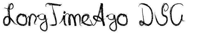 LongTimeAgo DSG font