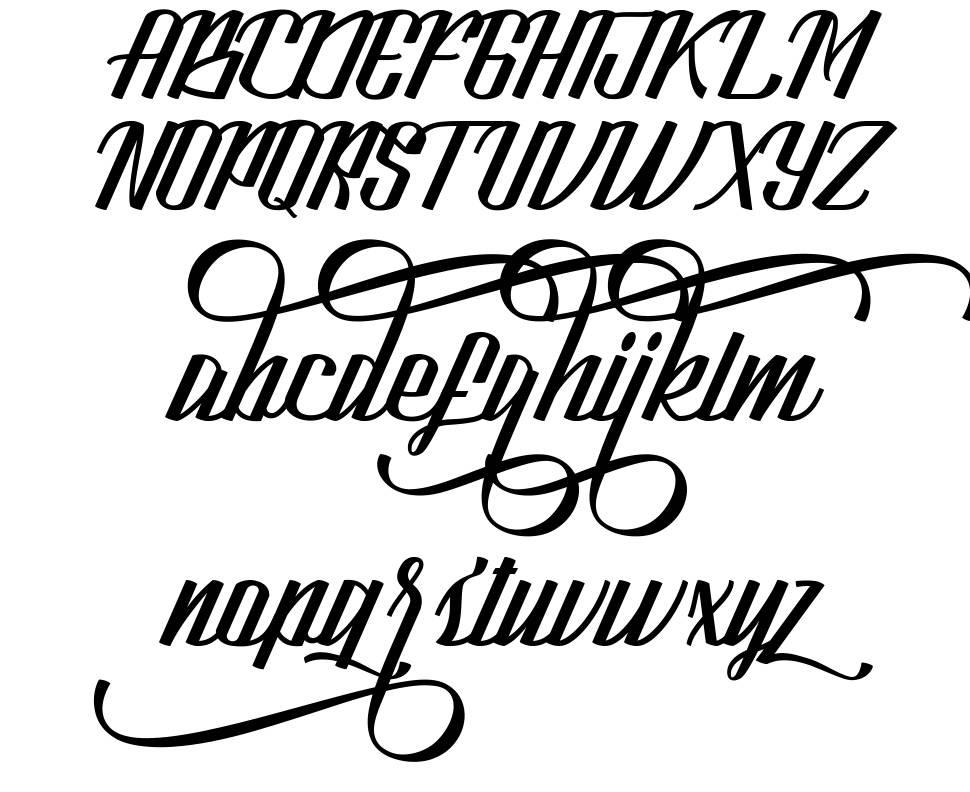 Look font