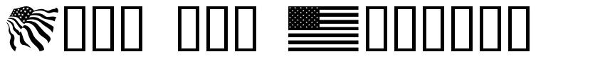 Look for America font