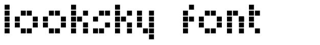 Looksky Font font