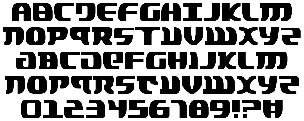 Lord of the Sith font