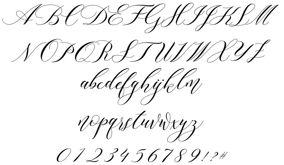 Lorriana Script font
