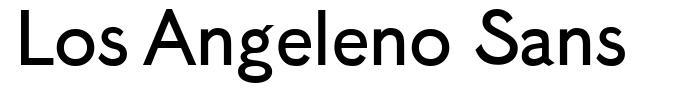 Los Angeleno Sans font